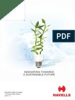 Havells Sustainability Report 2012 13