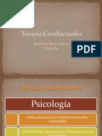 Terapia Conductuales psico