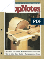 ShopNotes #12 (Vol. 02) - Shop Built Disk Sander