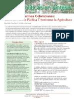 Cadenas Productivas Colombianas Cómo la Política Pública Transforma la Agricultura