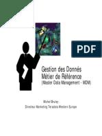 MDM & Entrepôt de Données