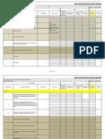 Procurement Schedule(1)-W 15