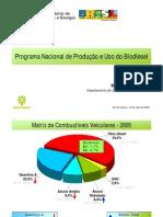 programa brasileiro de biodiesel