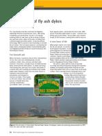 fly ash dykes