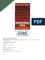Antônio Carlos  F Menezes - Bases para um ministério vivo