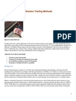 Adhesion Testing Methods - AGA