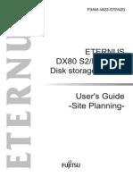 ETERNUS DX80 S2/DX90 S2 Disk storage system User's Guide -Site Planning