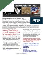 R3publican Newsletter Alert January 2014