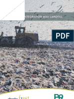 biomass integration with landfill