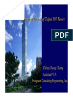 Structural Design of Taipei 101 Tower
