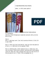 Bookmarker Patterns