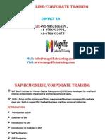 Sap Hcm Online Training 1