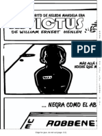 Poster Invictus b n