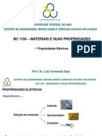 aula9-m&p - Propriedades Elétricas - SETZ
