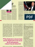 """Interview Primo over 'Mijn jaar bij Jean-Marie Dedecker"""""""