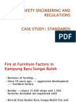 Fire Safety Engineering and Regulations - Case Study