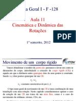 Cinemática e Dinamica das Rotações