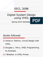 Dsd Using Vhdl Vhdl Digital Electronics