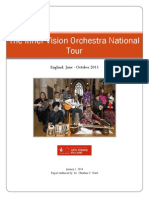 Final Report the Inner Vision Orchestra National Tour 2013