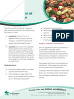 Factsheet Food Sources of Soluble Fibre