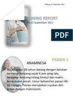 morning report stase obgyn