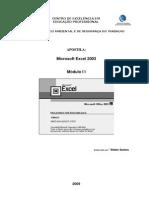 Apostila Excel 2003