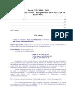 Decizii ICCJ Civil 2010 2011