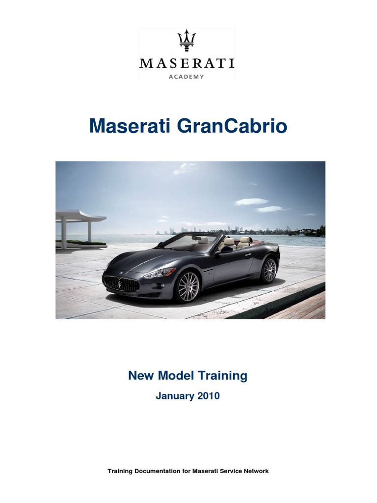 Grancabrio En Brake Airbag Maserati Spyder Wiring Diagram