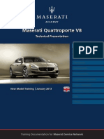 Quattroporte V8 Training Manual-En