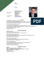 Resume (CV) of Dr. Douvartzides Savvas