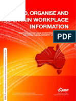 Record, Organise and Maintain Workplace Information Book 1