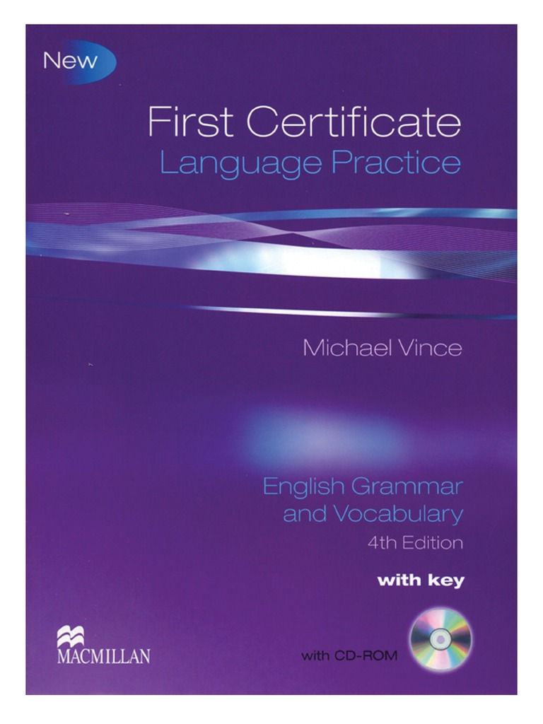 Grammar and Vocabulary for First Certificate (FCE) - Cambridge