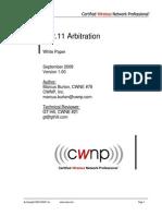 802.11 Arbitration
