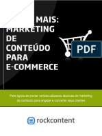 Marketing de Conteudo Para Ecommerce