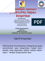 Kajian Empirikal-bahasa Melayu