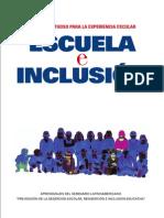Escuela e Inclusion
