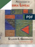 Aplicaciones de Algebra Lineal de Grossman
