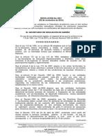 Resolucion 4051. Calendario escolar 2014