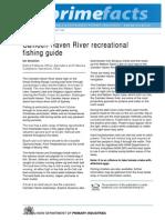 Camden Haven River Recreational Fishing Guide