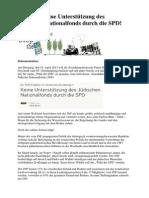 130330_Petition_Keine Unterstützung des Jüdischen Nationalfonds durch die SPD!