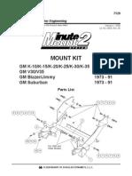 v3500 Minuite Mount