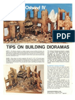 Tips on Building Diorama's