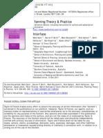 Planning Theory & Practice Dec 2011