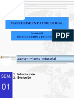 Mantenimiento Industrial - Introduccion