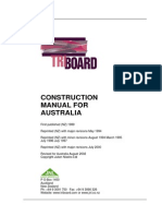 Australia Triboard Construction Manual (Aug02)