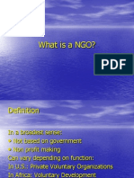NGOs Types and Role in Promoting Consumer Awareness.