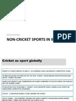 Non-Cricket Sports in India