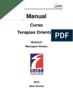 Manual shiatsu versão 2013