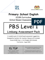 LAP for KSSR Lvl 1 English