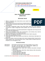 183959875 Soal Tes Potensi Akademik SPMB PTAIN Gratis 9 PDF